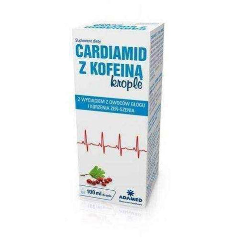 CARDIAMID with caffeine drops 100ml chronic fatigue syndrome UK