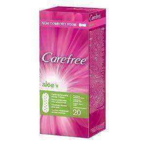 CAREFREE Aloe inserts x 20 pieces
