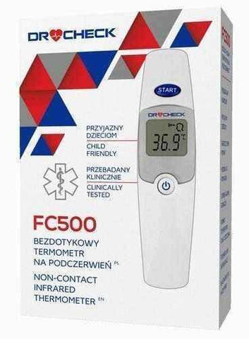 CHECK FC500 non-contact infrared thermometer x 1 piece UK