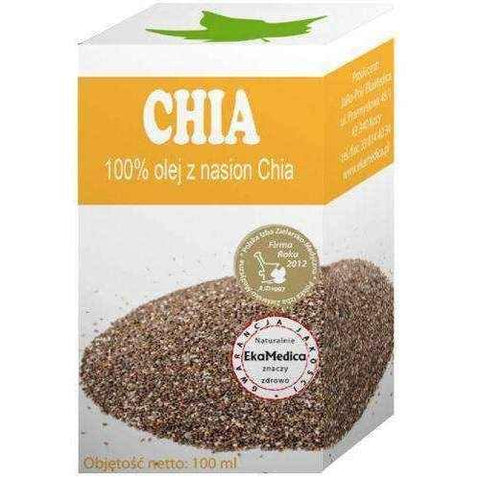 CHIA 100% Chia Seed Oil x 100ml