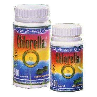 CHLORELLA algae pressed 200 tablets, prevention of flu