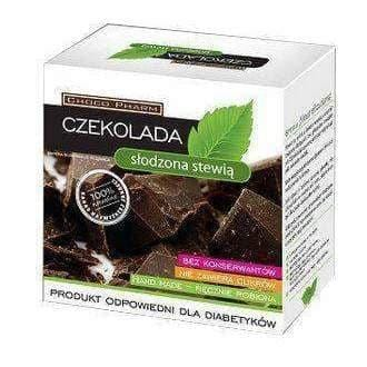 CHOCOLATE sweetened with stevia for adults 100g is a preparation for special medical purposes