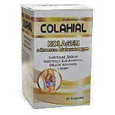 COLAHIAL Collagen with hyaluronic acid x 60 capsules