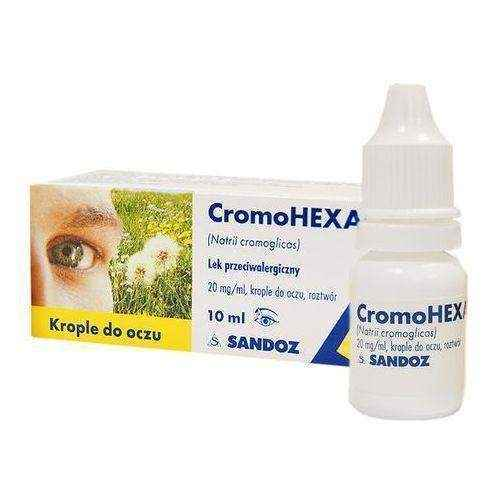 CROMOHEXAL drops 10ml 2%, eye itching - ELIVERA UK, England, Britain, Review, Buy