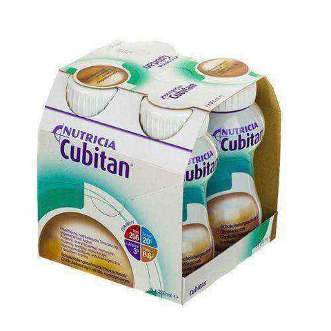 CUBITAN flavored chocolate 4 x 200ml