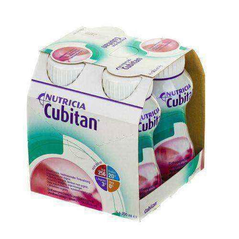 CUBITAN flavored strawberry 4 x 200ml