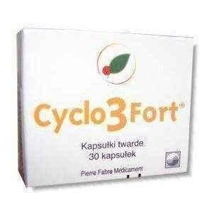 CYCLO 3 FORT x 30 capsules, lymphatic, legs trembling, heavy legs, hesperidin