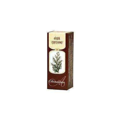 CYPRESS OIL 10ml, antitussive, strong sedatives, nerve disorders, hemorrhoids