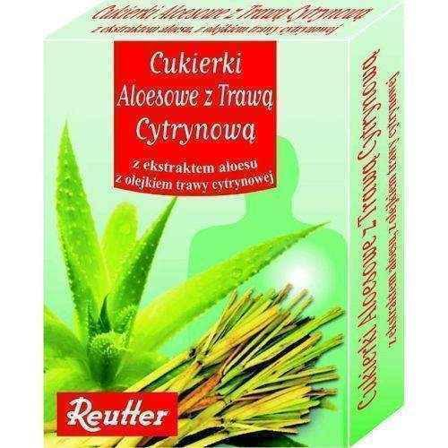 Candy aloe with lemongrass 50g