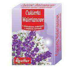 Candy valeric 50g, valerian extract, lavender oil