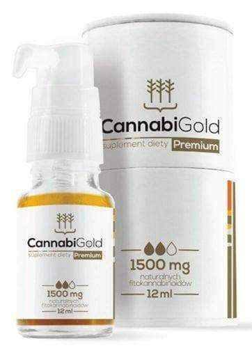 CannabiGold Premium 1500mg essential oil 12ml