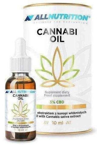 Cannabi Oil 5% 10ml Allnutrition