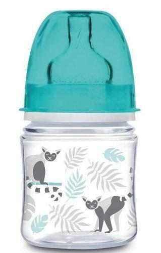 Canpol EasyStart Jungle 120 ml wide-opening anti-colic bottle
