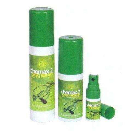 CheMax 2 Spray for cleaning glasses green 25ml - ELIVERA UK, England, Britain, Review, Buy
