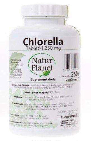 Chlorella Natur Planet x 1000 tablets
