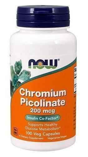 Chrome 200mcg (picolinate) x 100 capsules