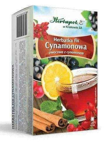 Cinnamon tea fix, black currant x 20 sachets