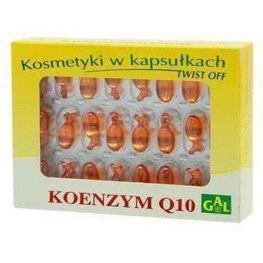 Coenzyme Q10 x 48 caps. x500mg. Gelatine dryness and irritation