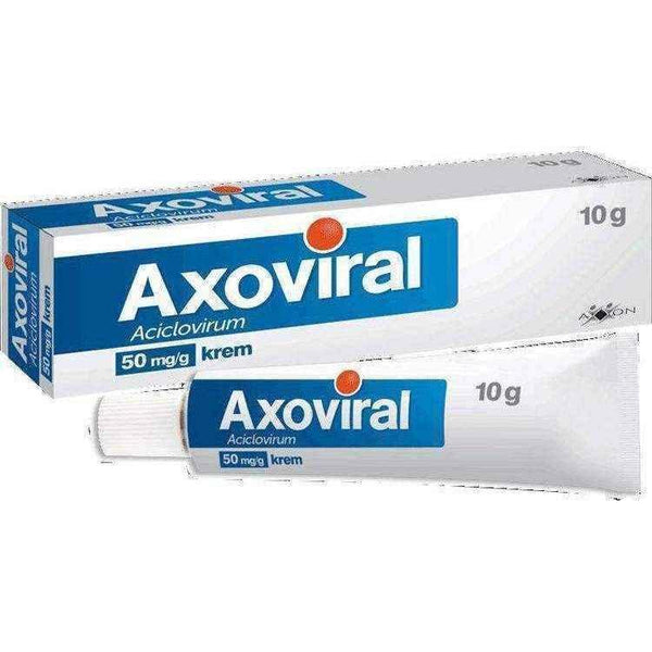 !Cold sore treatment, Axoviral cream 0,05 g / g 10g - ELIVERA UK, Reviews, Buy Online