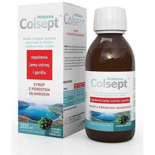 Colsept Icelandic lichen syrup 200ml children from 3 years strengthens the immune system