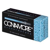 Condom CONAMORE Wet wipes x 12pcs. condom shop