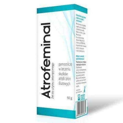 Consequences of menopause | Atrofeminal gel 50g