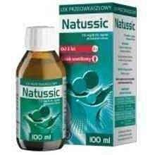 Constant cough, Natussic syrup 7.5mg / 5ml 100ml