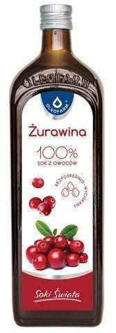Cranberry fruit juice 100% 980ml