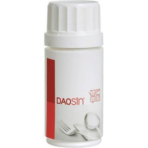 DAOZIN in case of food intolerance to histamine 10 capsules.
