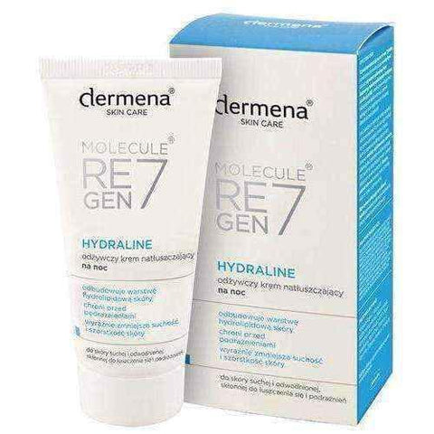 DERMENA Skin Care Hydraline nourishing oiling cream for the night 50ml