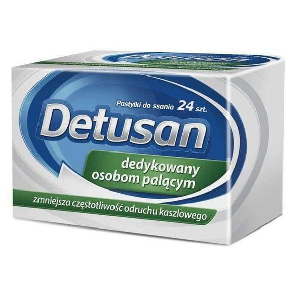 DETUSAN x 24 lozenges sore throat remedies