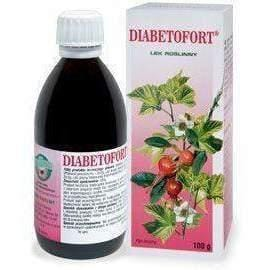 DIABETOFORT liquid 100g stimulating the secretion of urine and for the treatment of diabetes.