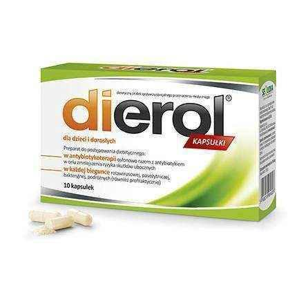 DIEROL For children and adults x 10 capsules