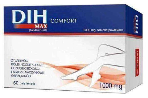 DIH Max Comfort 1000mg x 60 tablets