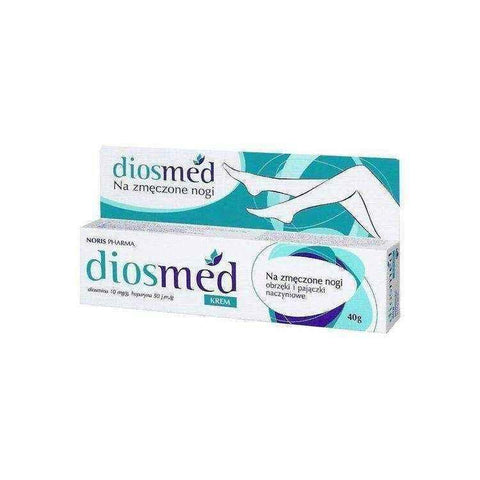 DIOSMED cream 40g, aching legs, dilated blood vessels, broken blood vessels