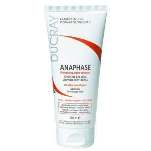 DUCRAY Anaphase Shampoo 200ml SZAMPON prepares the scalp for hair loss treatment.