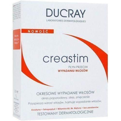 DUCRAY CREASTIM fluid against hair loss 2x30ml against periodic hair loss in women