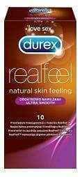 DUREX Real Feel condom additionally moisturized x 10 pieces