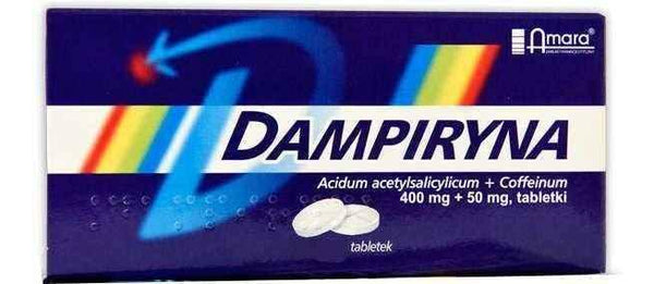 Dampiryna x 10 tablets analgesic, anti-inflammatory and antipyretic