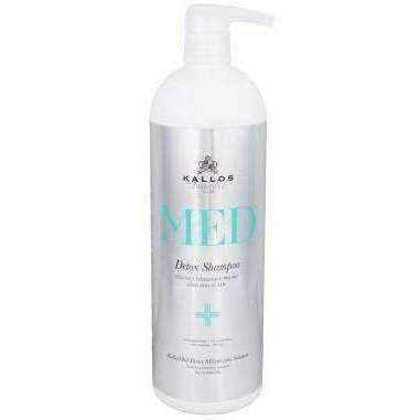 Deep cleansing shampoo KALLOS MED Detox 1000ml UK