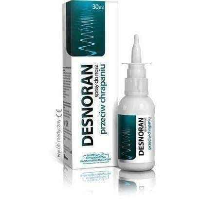 Desnoran nasal spray against snoring 30ml, stop snoring