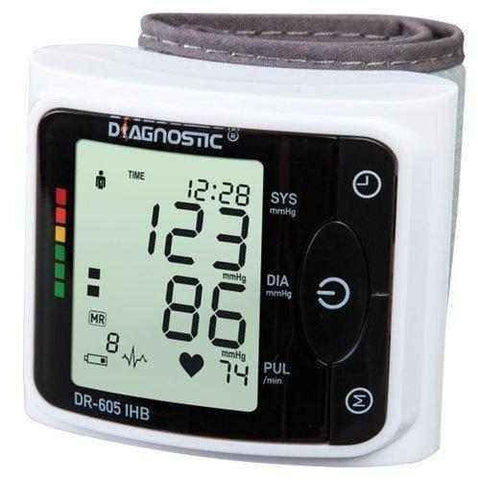 Diagnostic DR-605 IHB wrist blood pressure monitor x 1 piece