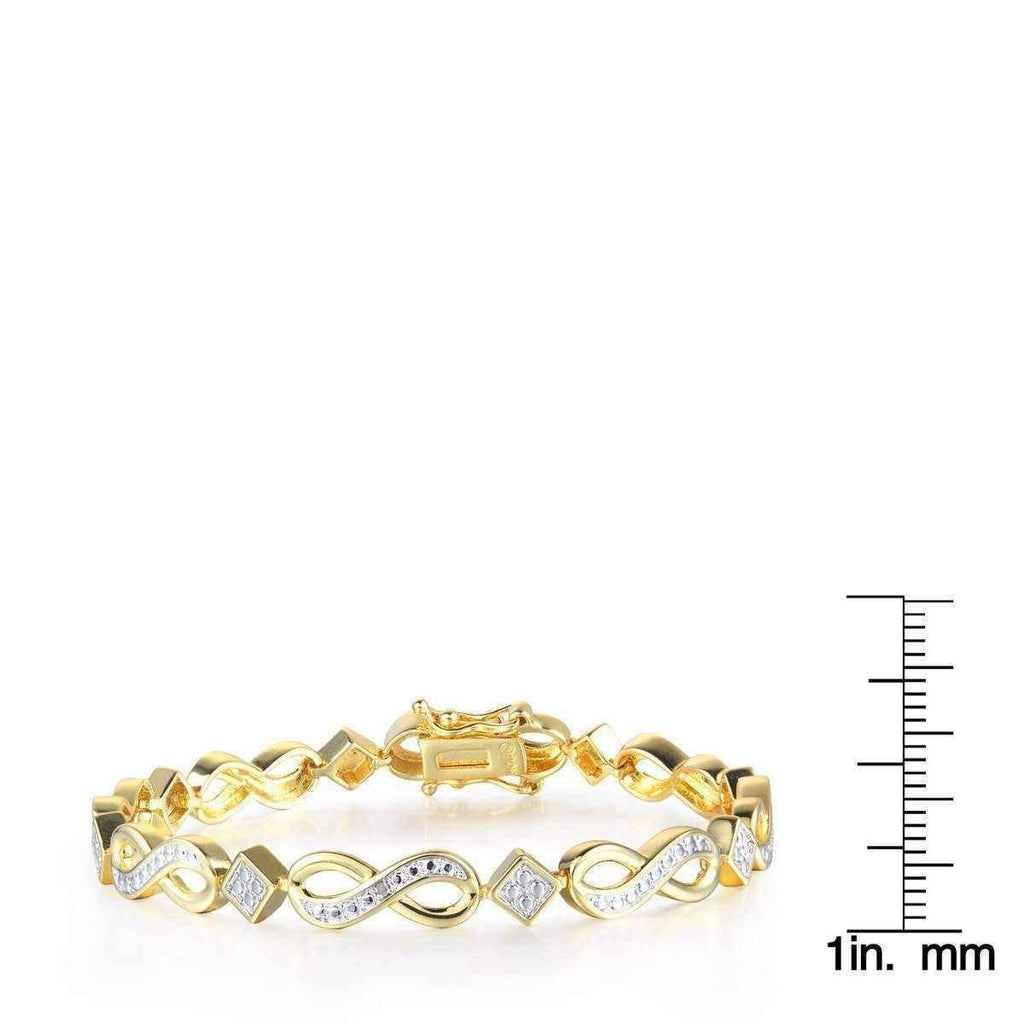 jewelry diamond bracelet infinity bracelets set white ct in at gold jewelers id district shop