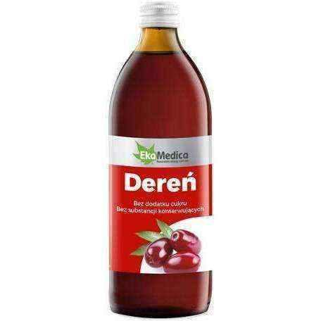 Dogwood fruit, DEREŃ Fruit juice of dogwood 500ml, metabolism booster