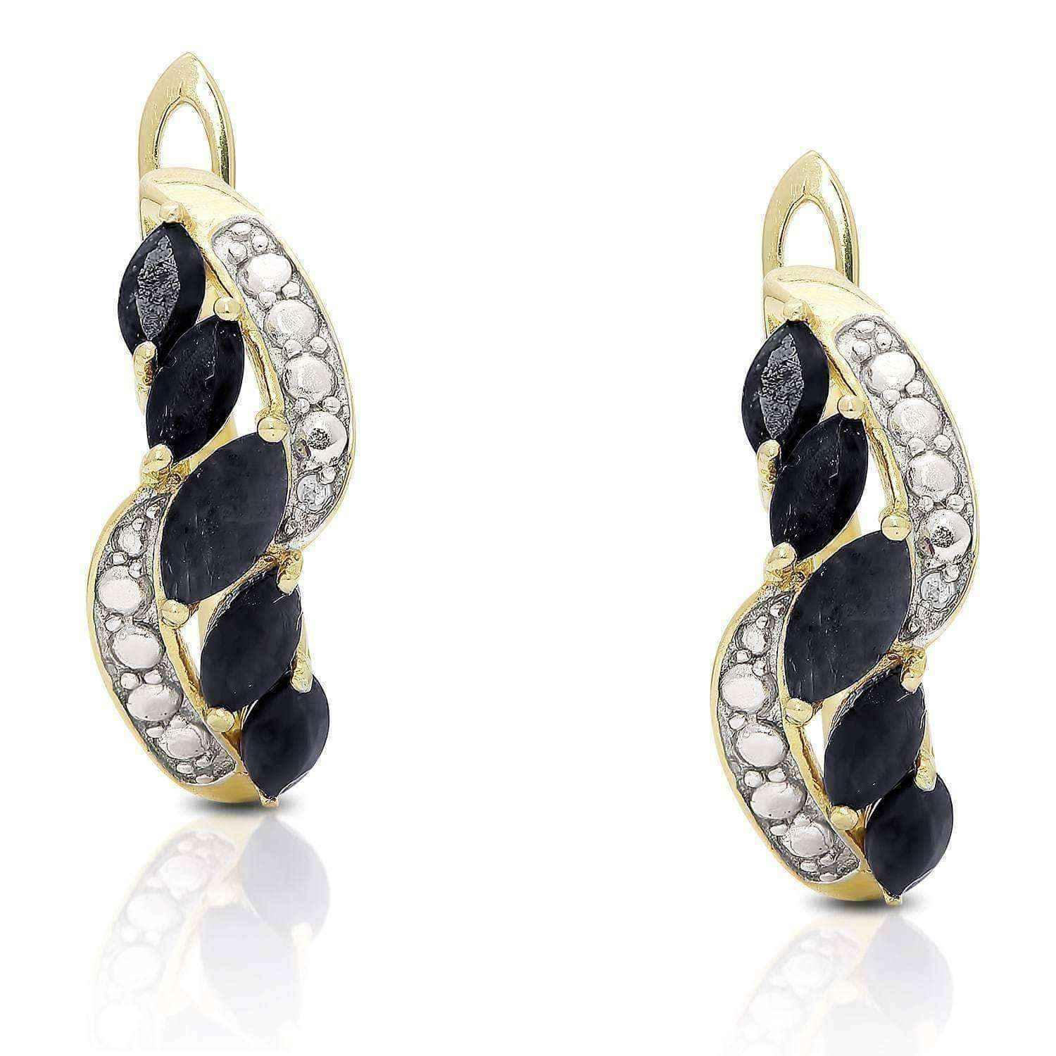 yellow by getimage accent diamond earrings gold large radiance fascination shld hoop oval url