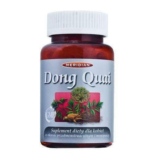 Dong Quai Angelica Chinese x 60 capsules alleviate the symptoms of menopause