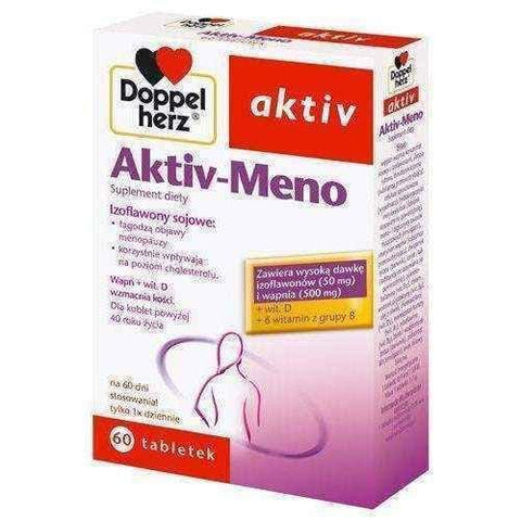 Doppelherz Aktiv-Meno x 60tabl. symptoms of menopause