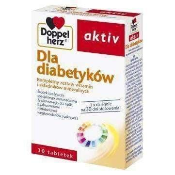 Doppelherz Aktiv For Diabetics x 30 tablets