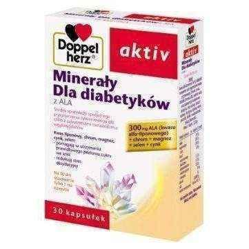Doppelherz Aktiv minerals for diabetics x 30 capsules, minerals for diabetes