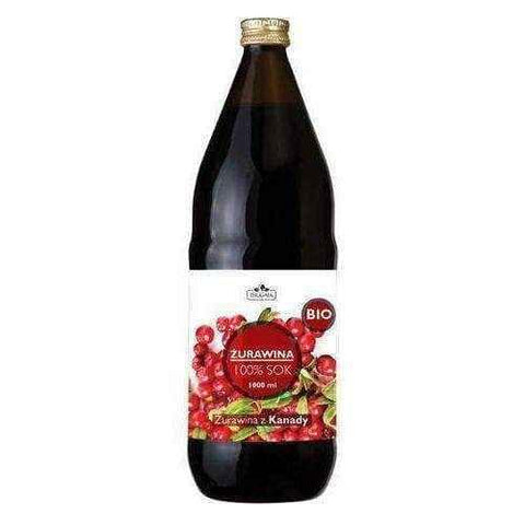 Dr. Gaja juice Cranberries BIO 1000ml, cranberry juice